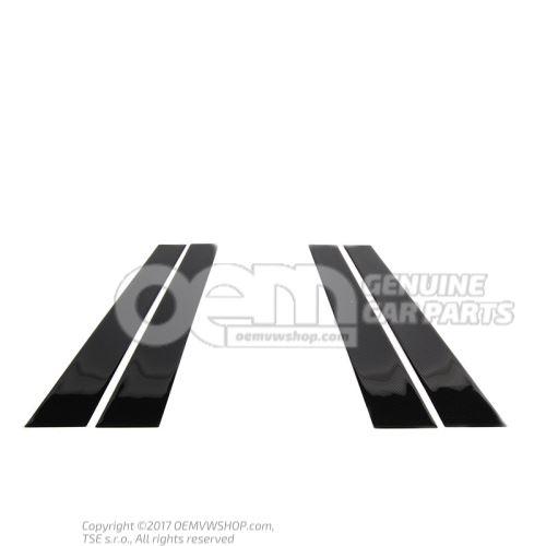 Feuille decorative p.montant b Volkswagen Golf/Golf R32 5K 5K4071350A