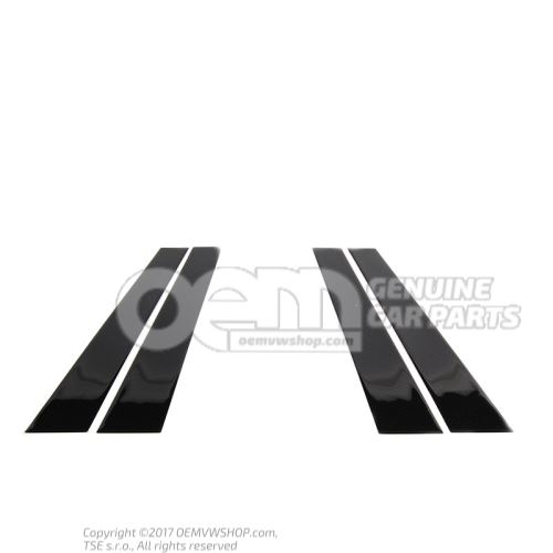 Декор. плёнка для стойки В Volkswagen Golf 5K 5K4071350A