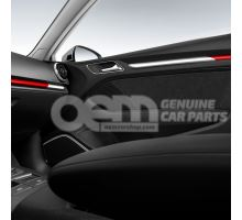 colour kit red, decorative inlays for the dashboard and front door trim 8V3072391