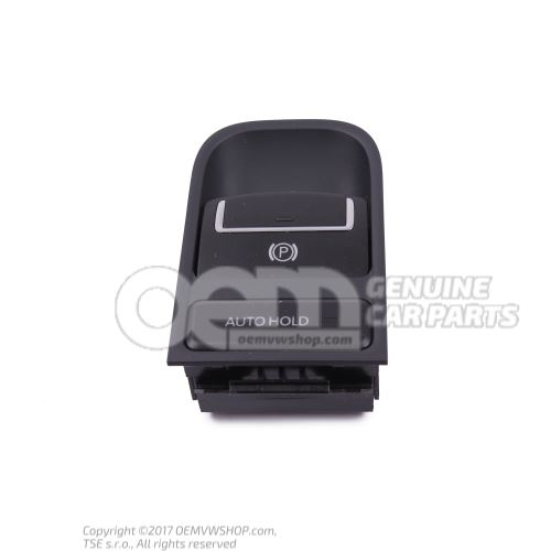 Switch for electromechanical parking brake  -EPB- titan black 5N0927225A XSJ