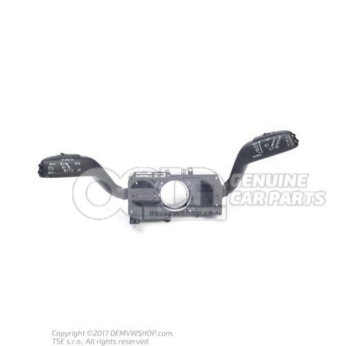 Блок подрулевых переключателей чёрный satinschwarz 7H0953513Q 9B9