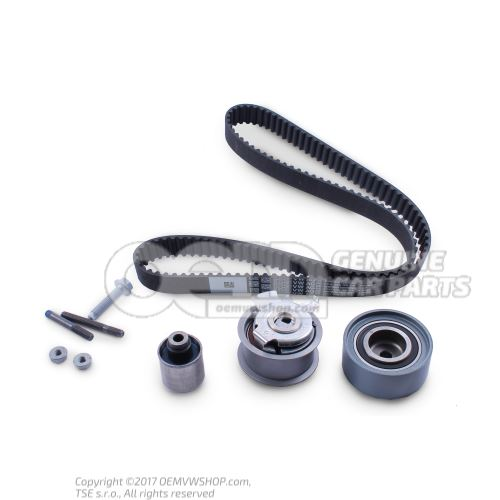 Repair kit for toothed belt with tensioning roller 03G198119B