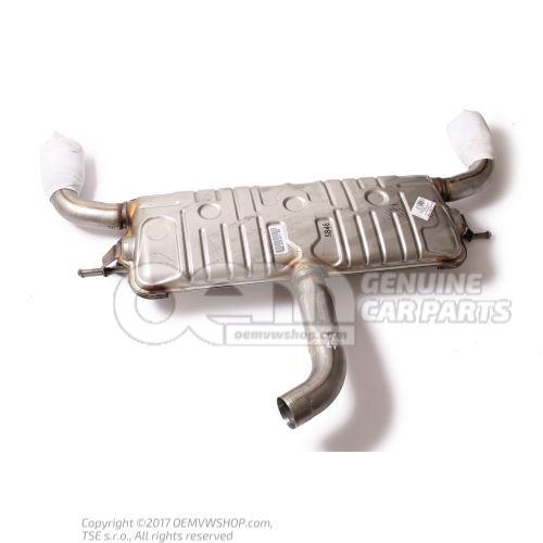 Rear silencer 5G6253609DD