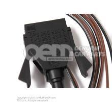 Spray nozzle, heated 5P0955987B