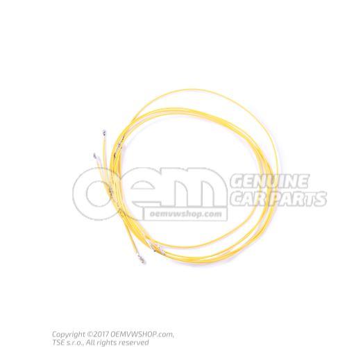 1 faisceau cable indiv. avec resp. 2 contacts en paquets de 5 pieces 'Unite de commande 5' 000979009EA