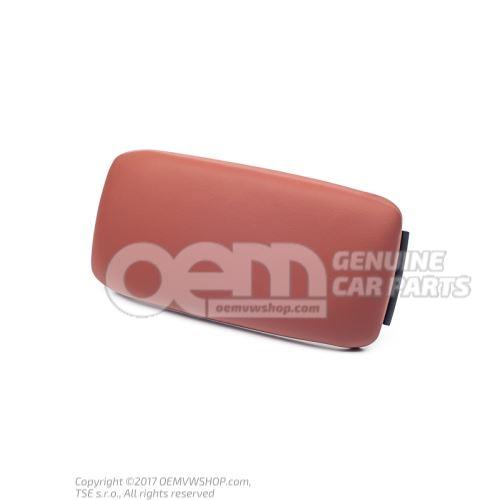 Armrest (upper part) mustang brown 8P0864245ABS49