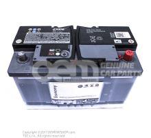 Batterie avec affichage de l'etat de charge, pleine et chargee         'ECO' JZW915105B