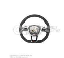 Multifunct. sports strng wheel (Alcantara) for vehicles with TIPTRONIC soul/steel grey for vehicles with TIPTRONIC