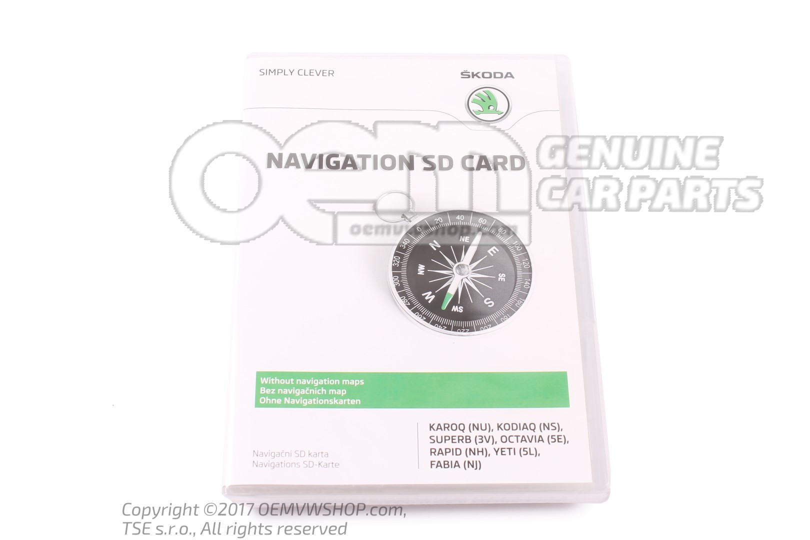 Sd memory card for navigation system 5L0051236C