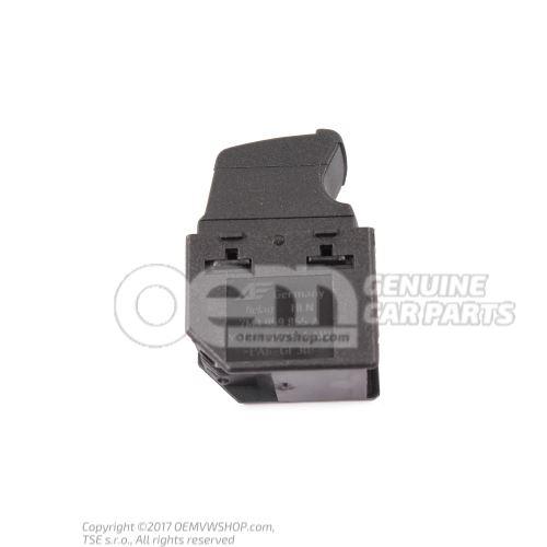 Switch for electric window regulator satin black 7M3959855A 01C