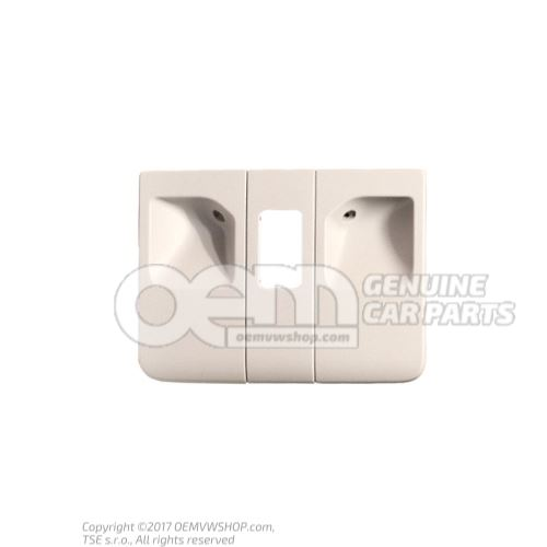 Couvercle gris perle 6J0877829A Y20