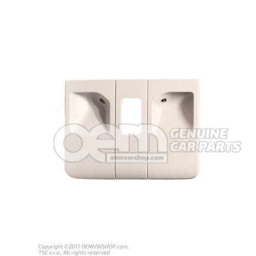 Cover pearl grey 6J0877829A Y20