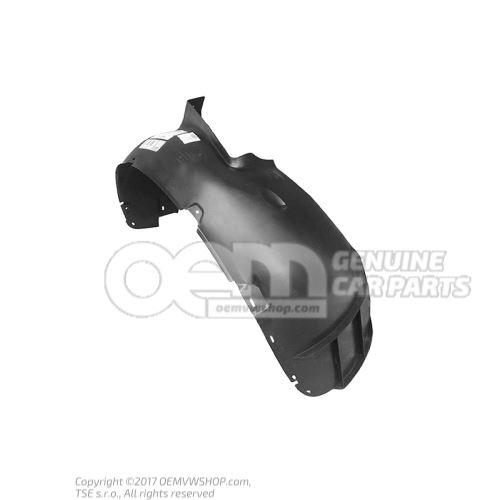 Coquille passage roue-plastiqu 1J0809962B