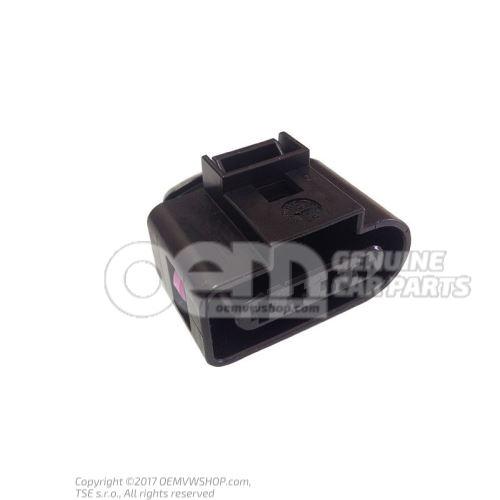 Корпус плоского разъёма с фиксатором контактов 4B0973724