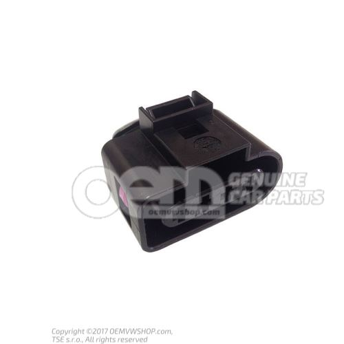 Flat contact housing with contact locking mechanism wiper motor