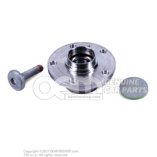 Cojinete de rueda con piezas de montaje trasero 3G0598611A