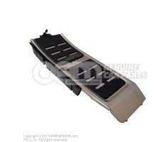 Cover for footrest aluminium lhd 4G1864777A 3Q7