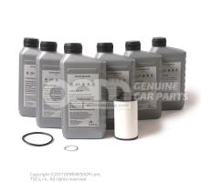 Kit d'entretien double embrayage humide pour VW Audi Skoda Seat 02E DQ250 Speed DSG