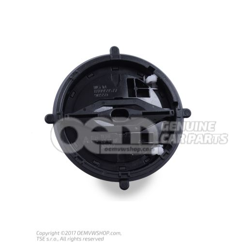 Adjusting unit with motor for exterior mirror 8T0959577