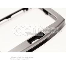 Trim brushed aluminium 3AA858069C PD4