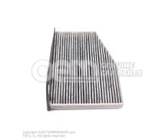 Filter insert with odour and harmful substance filter 'ECO' JZW819653B