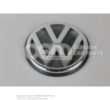 VW字符 SEAT字符 银灰色 6K9853601A FRS