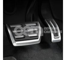 Foot rest and pedal caps in stainless steel 8K1064205