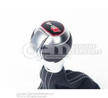 Рукоятка рычага перекл. перед. soul (чёрный)/серый titangrau 8K1713139T IWX