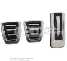 1 Set Pedal Caps stainless steel part number available in PPSO (Parcel Price System Online)
