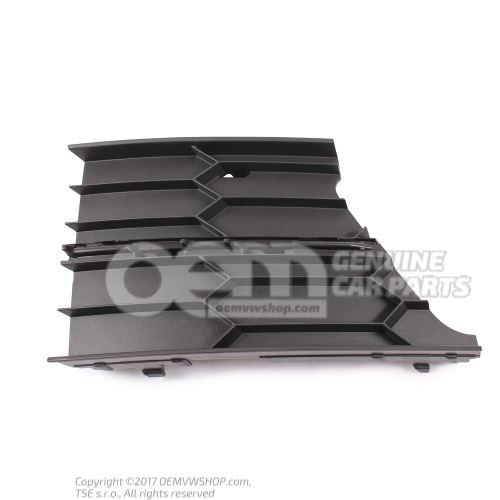 Ecran p. pare-chocs noir satine 3T0853665B 9B9