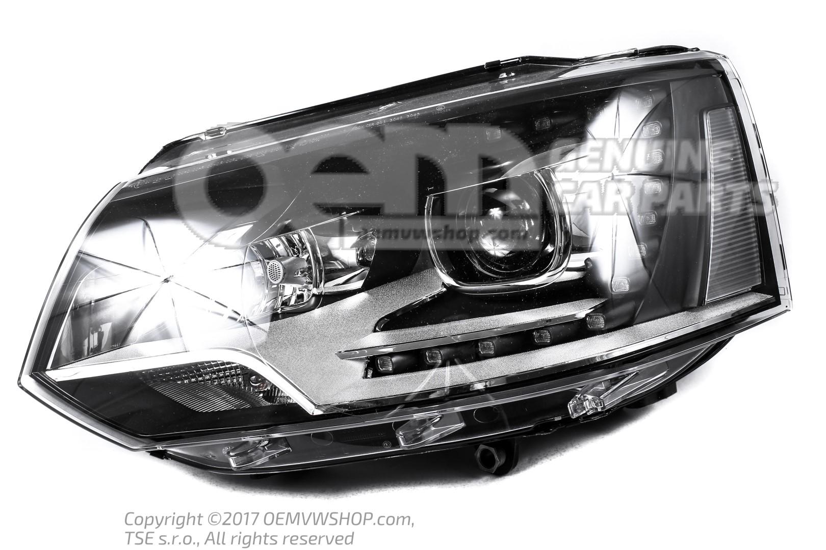 Gas discharge headlight 7E5941017 | oemVWshop com