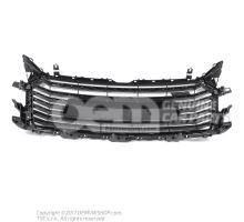 Radiator grille platinum grey Audi TT/TTS Coupe/Roadster 8S 8S0853651A 1RR