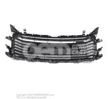 Radiator grille platinum grey Audi TT/TTS Coupe/Roadster 8S 8S0853651A 1RR