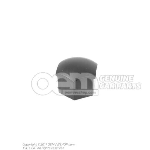 Skrutka s krytom - koleso saténová čierna