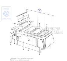 1 jeu de listels d'angle Volkswagen Campmobil LT 7E 281070004