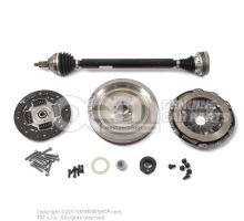 Repair kit for dual mass flywheel Audi VW Skoda Seat diesel engines