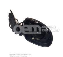 车外后视镜护罩 棉缎黑色 5L1857508AB9B9