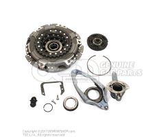 Genuine dry dual clutch repair kit  for 0AM / DQ200 7 speed DSG Gearboxes