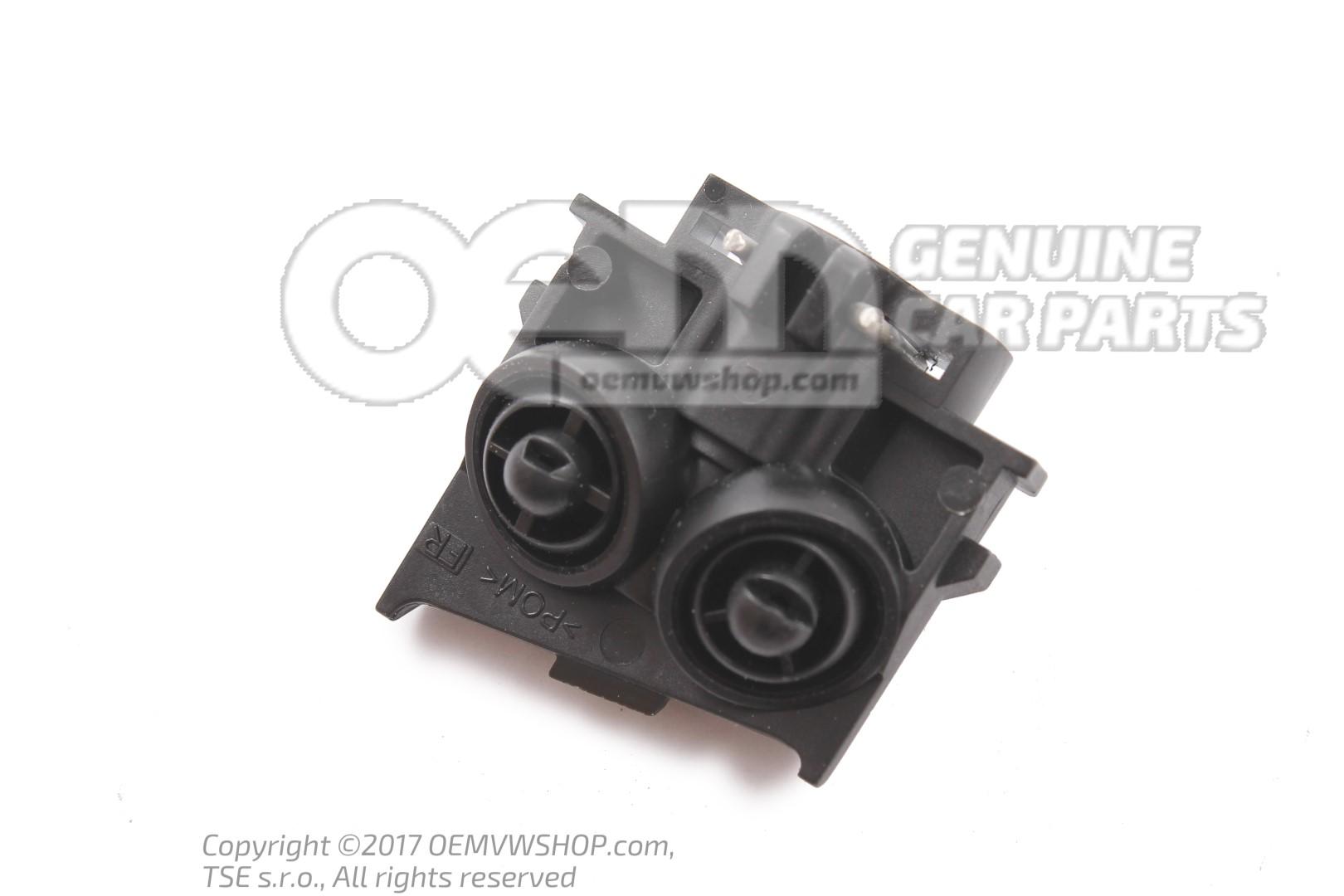 Genuine Volkswagen Nozzle Carrier Spray Nozzle Left NOS 1E0955103