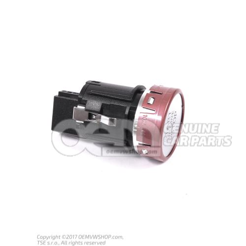 Start/stop switch lhd Audi TT/TTS Coupe/Roadster 8S 8S1905217A