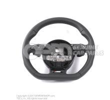 Multifunct. sports strng wheel (leather) Audi R8 Coupe/Spyder 42 OEM01455251