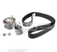 Repair kit for toothed belt with tensioning roller 038198119A