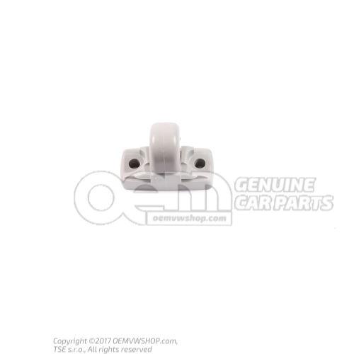 Retainer for sun visor pearl grey 3B0857561B Y20