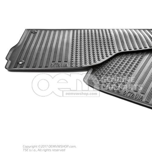 Foot mat (rubber)