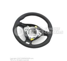 Volante deportivo (cuero) volante direccion negro/gris cristal 1J0419091DLQHS