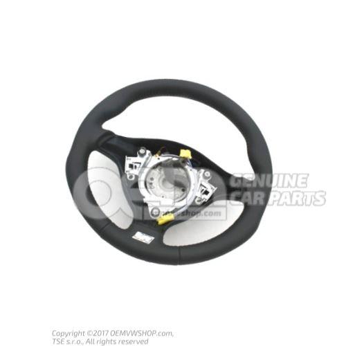 Volant direction sport (cuir) noir/gris cristal Volkswagen Golf 1J 1J0419091DLQHS