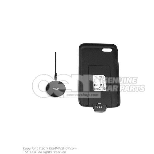Bezdrôtová nabíjacia podložka s krytom bezdrôtového nabíjania pre iPhone 6 / 6S