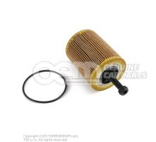 Filter element with gasket 071115562C