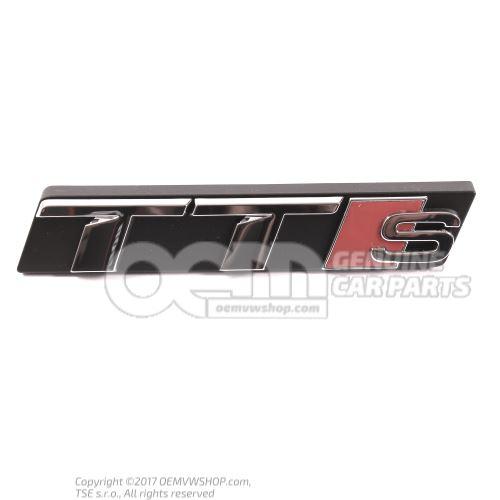 标记字样 铬 Audi TT/TTS Coupe/Roadster 8S 8S0853736A 2ZZ