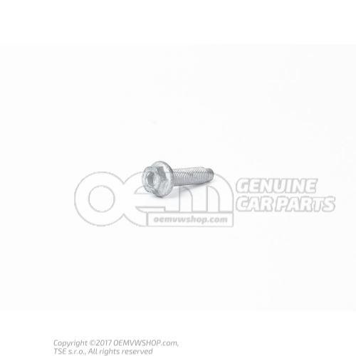 N  90735604 Винт с 6-гранной головкой, буртиком и внутр. 6-гранником M7X28